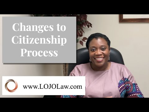 Changes To Citizenship Application Process