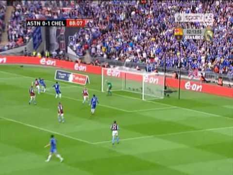 Chelsea 3 v Aston Villa 0 |FA Cup Semi-Final 09/10|
