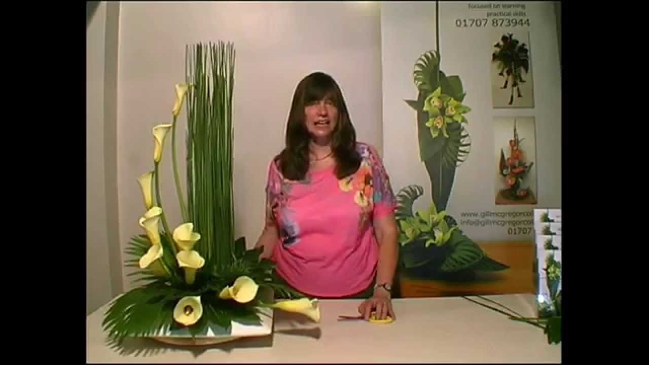 Contemporary Flower Arranging Lesson Hedging YouTube