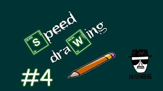 How to draw Heisenberg [Breaking Bad] - Speed Drawing