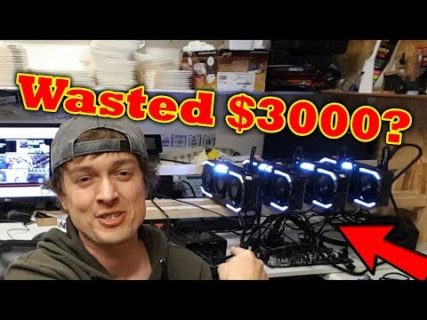 Noob Tries To Build A Bitcoin Mining Rig - £2200 Down The Pan??