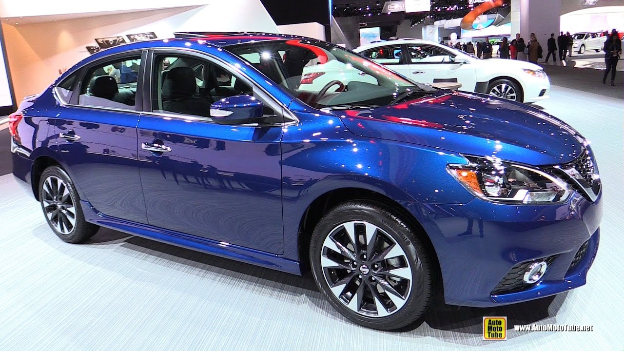 2017 Nissan Sentra SR Turbo Exterior And Interior