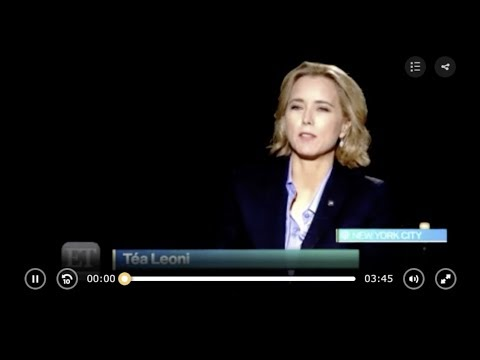 Téa Leoni Talks Madam Secretary  ET Canada