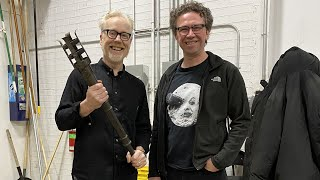 Adam Savage Tours The Expanse's Practical Effects Shop!