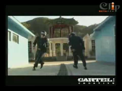 Nam Bắc Triều Tiên chiến hiphop