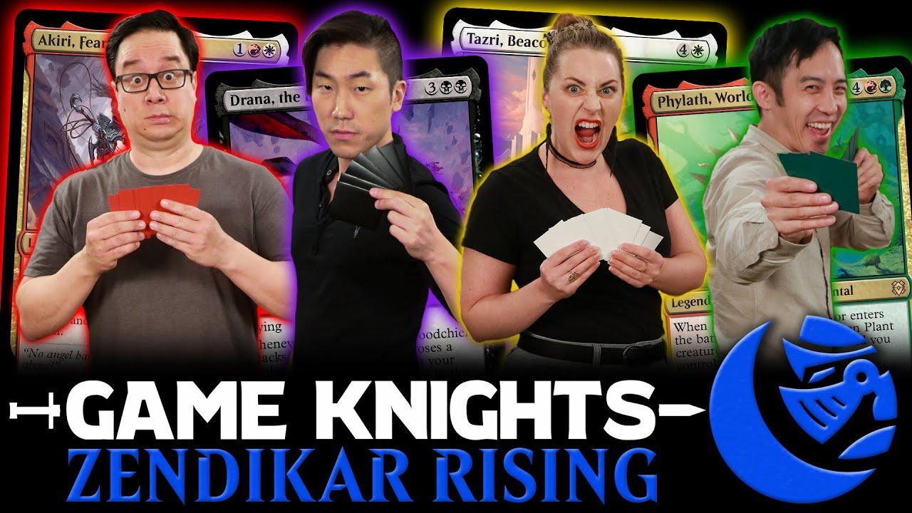 Download Zendikar Rising Commander Party l Game Knights #39 l Magic: The Gathering Gameplay EDH