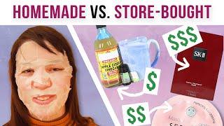 We Tested DIY Sheet Masks Vs. Store-Bought Sheet Masks
