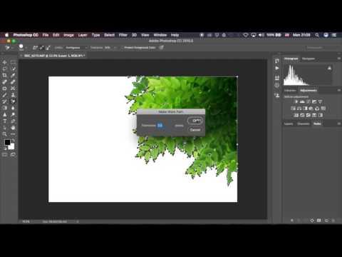 สอนวิธี ฝัง clipping path ใน Photoshop ง่ายๆๆรวดเร็ว