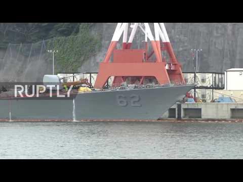 Japan: Sailors' bodies found aboard stricken US Navy ship