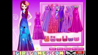 Elegant Purple Girl MakeOver - Y8.com Online Games by malditha