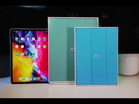 "Apple Official Smart Folio For NEW 2020 IPad 12.9"" And 11"" - Dual Unboxing & Review"
