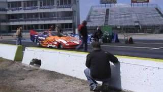NHRDA Ennis,TX John Robinson Diesel Funny Car 8 second pass
