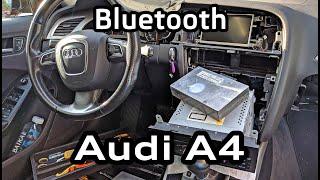 установка bluetooth Audi Concert A4 A5 Q5 штатная оригинальная громкая связь