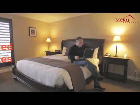 Cupertino Inn Supports Business Travelers with Meru Wi Fi