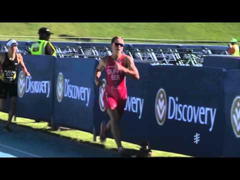 2016 Discovery World Triathlon Cape Town - Elite Women's Highlights