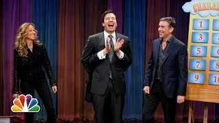 Charades with Jimmy Fallon, Damian Lewis, Steve Coogan and Sheryl Crow