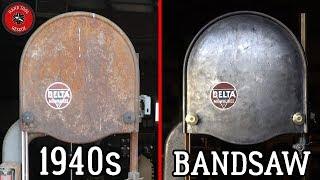 1940s Large Bandsaw [DiRestoration]...