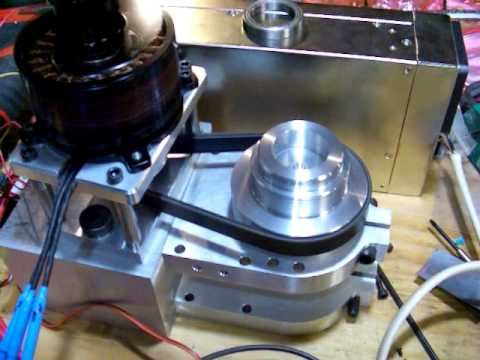 Big Brushless Motor Spindle Testing Youtube