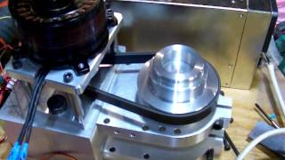 Big Brushless Motor/ Spindle Testing