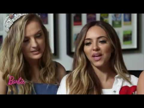Little Mix : Interview (Barbie In Rock 'n' Royals 2015)
