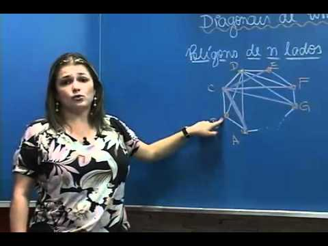 G1 Aprenda como calcular as diagonais de um polígono notícias em Vestibular ...