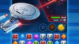 Star Trek ® - Wrath of Gems - Gameplay Android