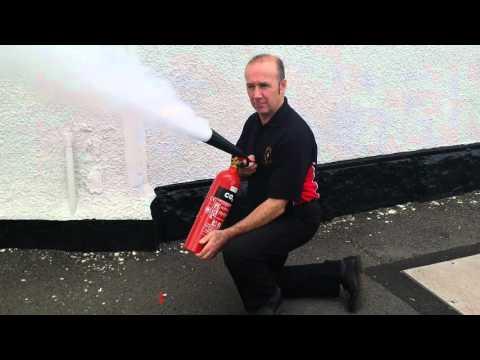 2kg Co2 Extinguisher Set offf