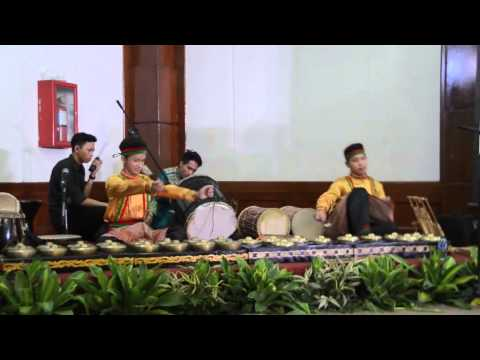 Hanif's talempong performance
