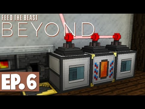 FTB Beyond - Wireless RF Power & Automated Obsidian! #6 [Modded Survival]