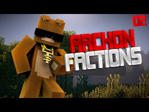 Minecraft FACTIONS ARCHON CRIMSON - AUTO CANNON RAID ON MANIFEST + BUILDING GOLIATH V4?!?!?! EP - 2