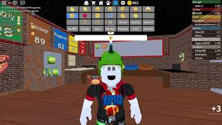 Roblox work at a pizza place! folytassuk!