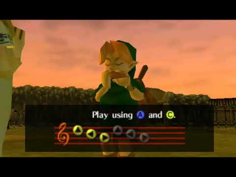 Legend of Zelda: Ocarina of Time- Epona's Song