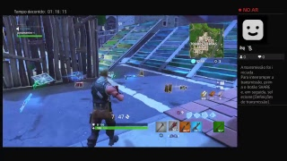Fortnite solos ps4 Game play