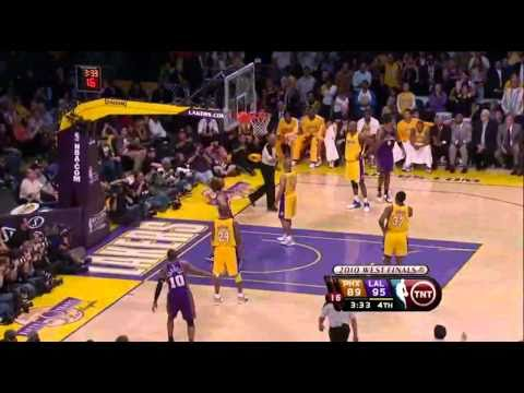 2010 NBA Playoffs Game 5 Conference Finals Phoenix Suns vs Los Angeles Lakers Part 11