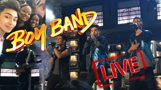 WE SAW BOY BAND LIVE!