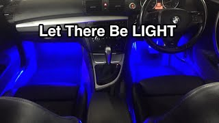 Installing Car Interior LED Lights Interior Lights (Multi Colour & Changes with Music)