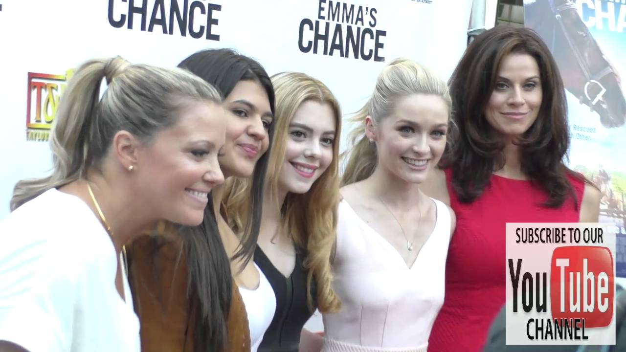 Download Emma's Chance Cast at the Screening Of Sony Pictures Home Entertainment's Emma's Chance at ArcLight