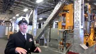 Tour of USS Coronado LCS-4 littoral combat aluminum trimaran ship -3/7