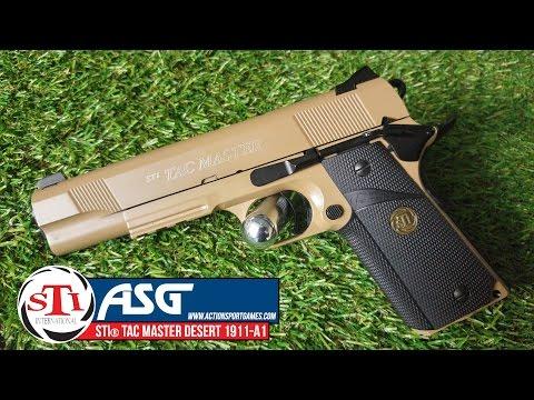 ASG STI® TAC MASTER 1911 Desert   Gun Review Only £79.99 streaming vf