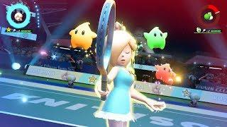 (Rosalina) Special Shot . Exhibition . Mario Tennis Aces (Nintendo Switch)