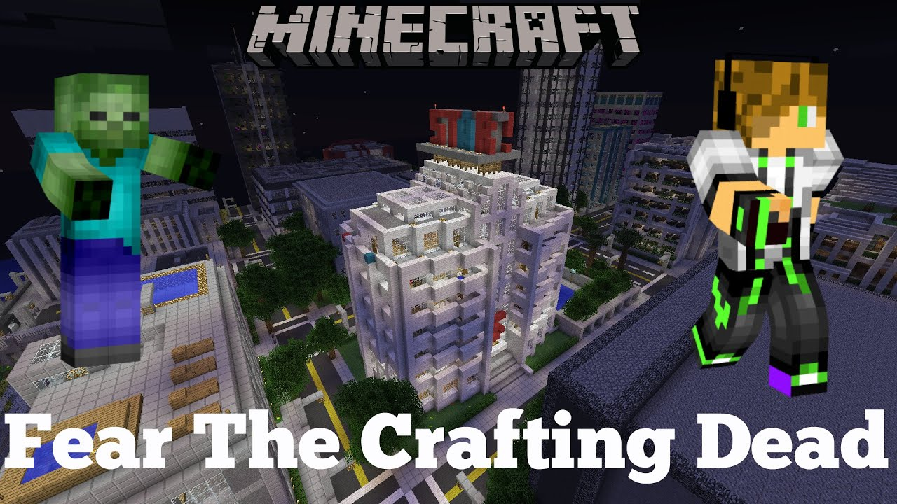 minecraft the crafting dead minecraft fear the crafting dead 1 4966