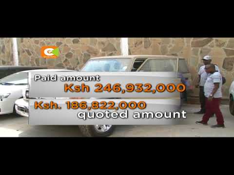 EACC busts go down storing stolen Garissa County vehicle