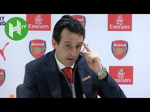 """Arsenal 1-0 Huddersfield: Unai Emery: We don't need distraction of """"Hippy Crack"""" story"""