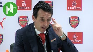 Arsenal 1-0 Huddersfield: Unai Emery: We don't need distraction of