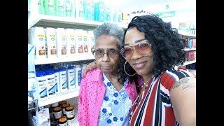Finally got granny to Ollies OutLet Store ,, Come hangout with us ...