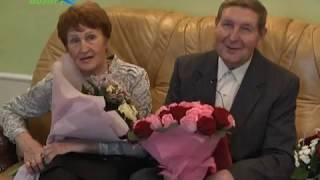 Жители города Конаково Владимир и Светлана Барановские отметили золотую свадьбу