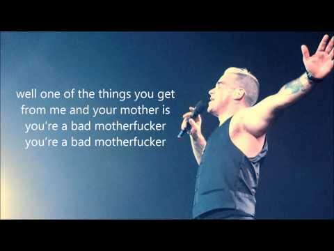 Robbie Williams - Motherfucker (Charlie's Song) LYRIC
