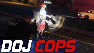 Dept. of Justice Cops #590 - Just Around The Corner