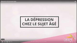 Dépression de la personne âgée