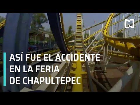 Accidente en la Feria de Chapultepec momento exacto - En punto